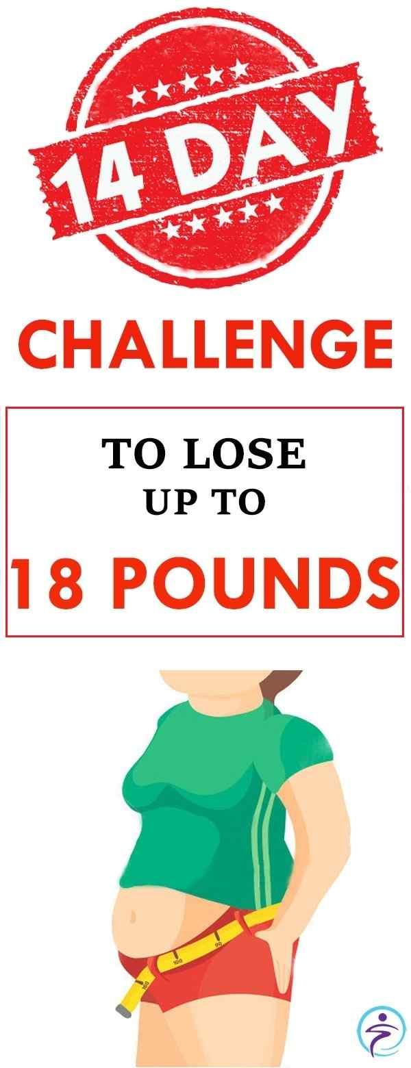 14-DAY CHALLENGE LOSE UP TO 18 POUNDS