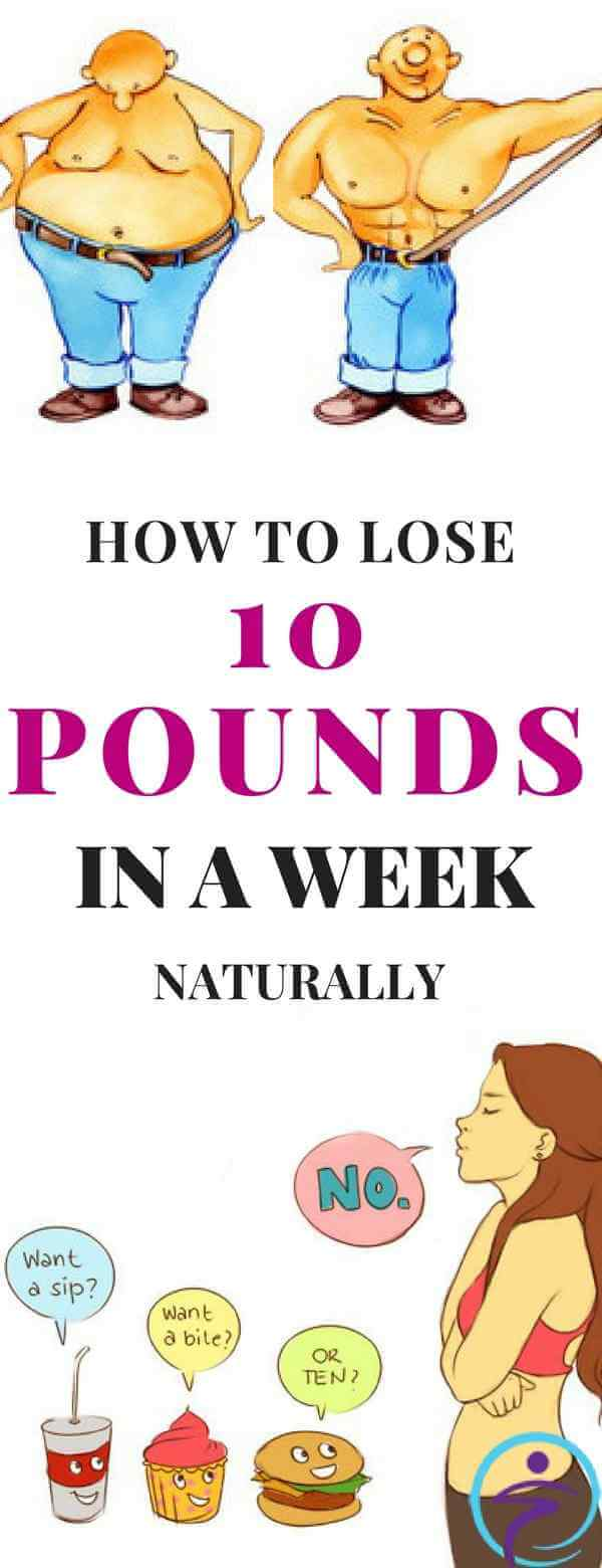 How to Lose 10 Pounds in a Week Naturally