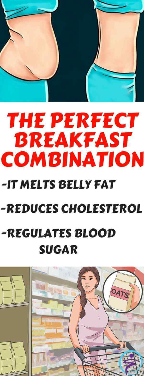 The Perfect Breakfast Combination: It Melts Belly Fat, Reduces Cholesterol and Regulates Blood Sugar