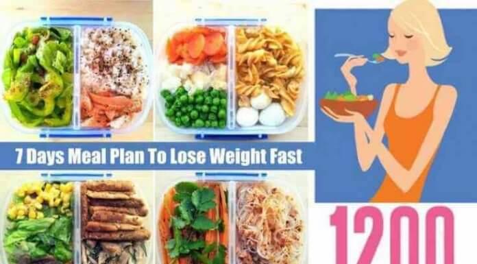 1200 Calorie Meal Plan