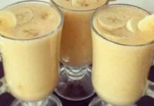 BURN-STOMACH banana drink